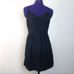 Abercrombie & Fitch Black Lace Dress